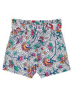 Shorts con stampa neonata FITOSHO1 / 19SG09L1SHO000