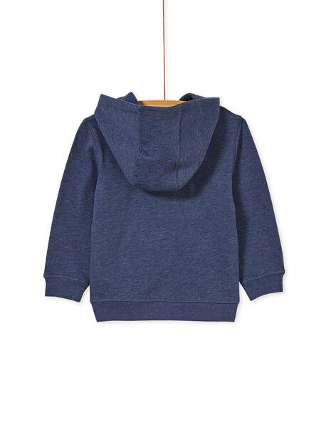 Heathered blue JOGGING TOP KOJOJOH4EX / 20W90254D33222
