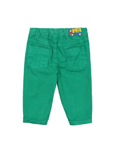 Pantaloni verdi neonato FUJOPAN3 / 19SG1033PANG603