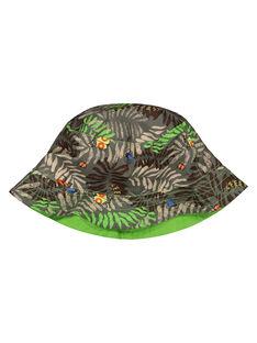 Cappello da pescatore con stampa tropicale bambino FYOYEBOB / 19SI02M1CHA626