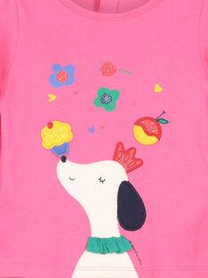 T-shirt maniche lunghe neonata FICOTEE / 19SG0981TML030