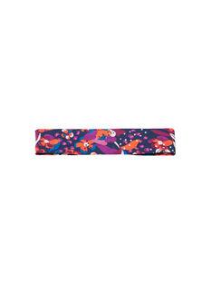 Fascia con stampa a fiori colorata neonata MYIPABAN / 21WI09H1BAND319