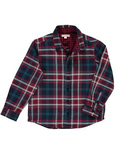 Boys' checked shirt DOTRICHEM / 18W902D1CHMC205
