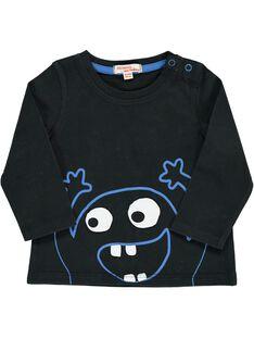 Baby boys' fancy long-sleeved T-shirt DUJOTEE1 / 18WG1032TML090