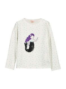T-shirt maniche lunghe bambina FANETEE1 / 19S901B1TML000