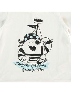 Baby boys' short-sleeved T-shirt CUJOTI4 / 18SG10R4TMC001