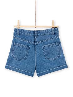Shorts in jeans bambina MAPASHORT / 21W901H1SHOP269