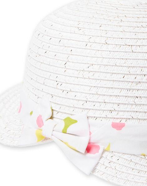 Cappello bianco neonata LYIBALCHA1 / 21SI09O2CHA000