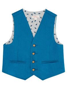 Blue Sleeveless Jacket JOJAGIL / 20S902B1GSMC235