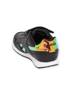 Sneakers Reebok nere con dettagli olografici bambina MAG57518 / 21XK3541D36090