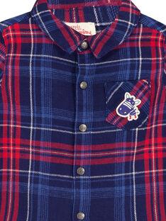 Camicia Navy GUTRICHEM / 19WG10J1CHM070