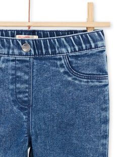 Jeggings effetto jeans bambina MAJOJEG2 / 21W90111PANP269