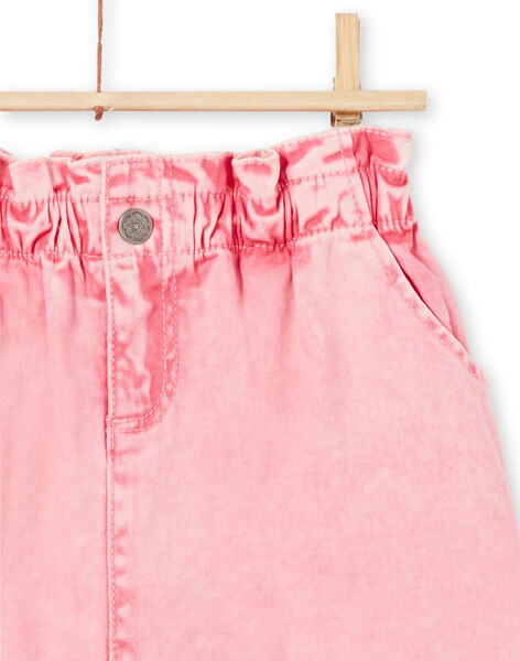 Gonna in jeans rosa bambina MAKAJUP1 / 21W901I1JUPD305