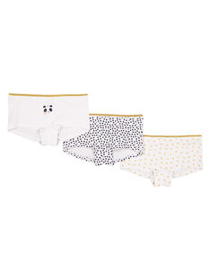 Set 3 culotte in jersey bambina GEFAHOTPAN / 19WH11N2SHY000