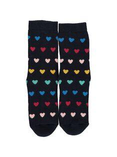 Girl's thick non-slip socks DYANAUCHODER / 18WI01G2SOQ099