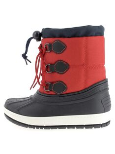Boys' fur lined snow boots DGMONTVIN / 18WK36X1D3N050