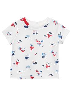 T-Shirt Maniche Corte Ecrù JUCEATI3 / 20SG10N2TMC001