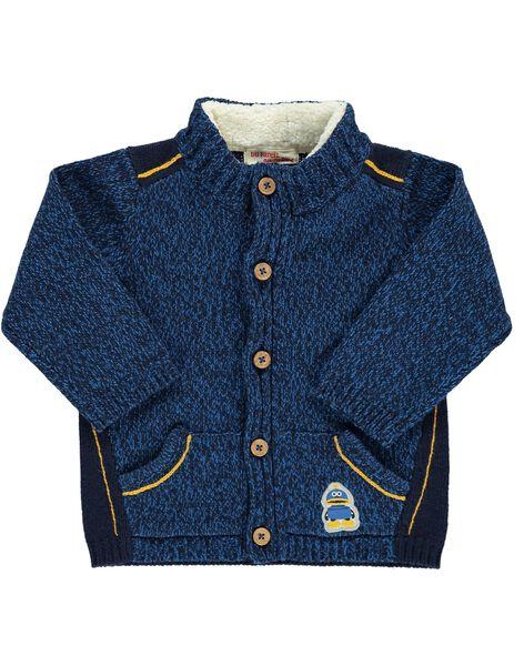 Baby boys' cardigan DUBLEGIL2 / 18WG1092GIL099