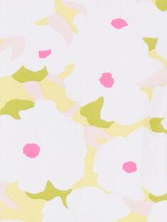 Leggings a fiori bambina LYAJAULEG2 / 21SI01O2CAL000