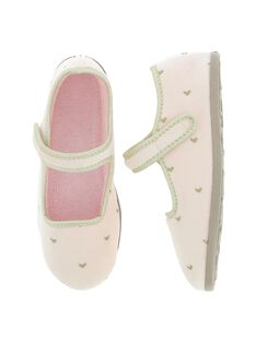 Girls' Mary Jane slippers DFBALCOEUR / 18WK35W4D07001