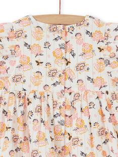 Abito a fiori neonata LIPOEROB2 / 21SG09Y3ROB001