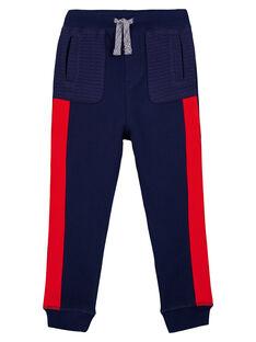 Pantaloni Sportivi Felpati Navy GOSANPAN1 / 19W902C2PAN070