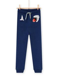 Pantaloni sportivi navy - Bambino LONAUJOG1 / 21S902P2JGB070