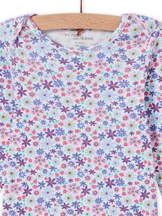 Body maniche lunghe stampa a fiori neonata MEFIBODLIB / 21WH13C6BDL001