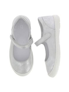Girls' leather Mary-Janes CFBABLIA / 18SK35W4D3I956