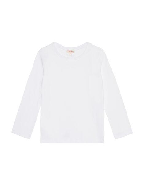 T-Shirt Maniche Lunghe Bianca JAESTEE1 / 20S90161D32000