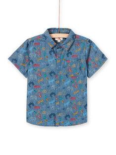 Camicia maniche corte bambino LOVICHEM / 21S902U1CHM721