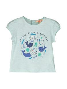T-shirt maniche corte neonata FINETI / 19SG09B1TMCC216