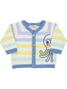 Baby boys' cardigan CUBUGIL / 18SG10K1GIL099
