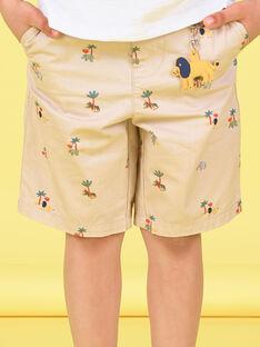 Bermuda bambino con stampa LOJAUBER2 / 21S902O1BERA014