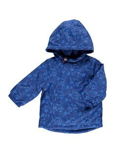 Baby boys' hooded jacket CUDEPAR / 18SG10F1PAR099