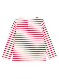 T-Shirt Maniche Lunghe Ecrù GANOTEE / 19W901V1TML001