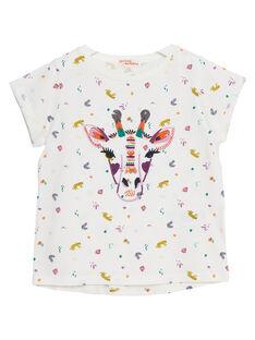 T-Shirt Maniche Corte Ecrù JASAUTI2 / 20S901Q1TMC001