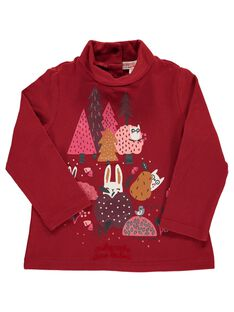 Baby girls' fancy polo neck DIPINSOUP / 18WG09P1SPL403