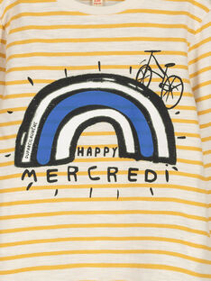 T-shirt maniche lunghe bambino FOLITEE3 / 19S90223TML001