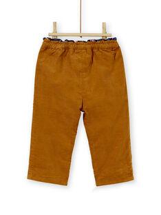 Brown PANTS KISAPAN / 20WG09O1PAN817