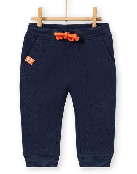 Pantaloni blu neonato LUJOPAN2 / 21SG1032PAN713