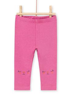 Leggings rosa neonata MYIPALEG2 / 21WI09H1CALH705