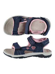 Sandali da città bimateriale bambina FFSANDION / 19SK35K2D0E070