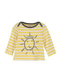 T-shirt maniche lunghe neonato FULITEE4 / 19SG1024TML099