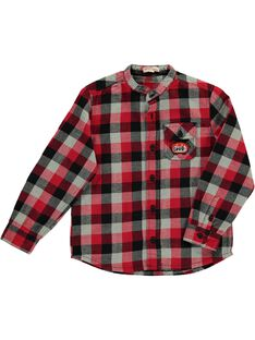 Boys' checked shirt DOROUCHEM / 18W90221CHM099