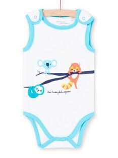 Body senza maniche con motivi animali neonato LEGABODAMI / 21SH14G2BDL000