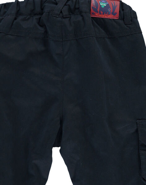 Baby boys' polar fleece lined trousers DUVIOPAN / 18WG10H1PAN717