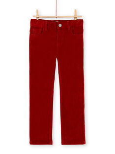 Red PANTS KOJOPAVEL6 / 20W90243D2BF519