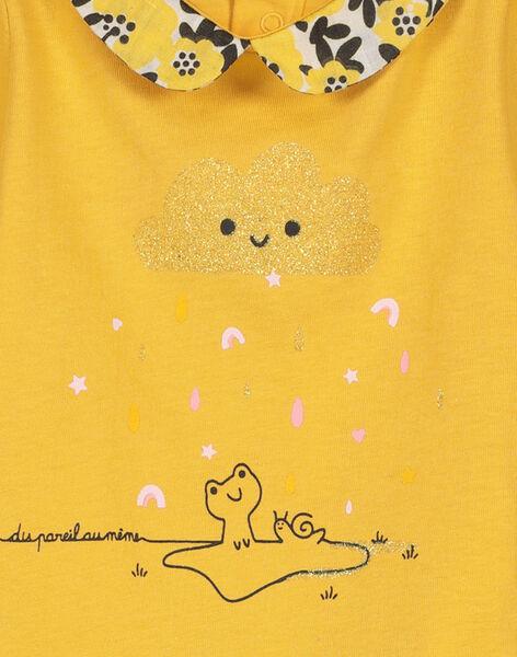 T-shirt colletto Peter Pan neonata FILIBRA / 19SG0921BRA103