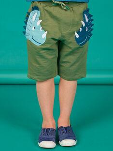 Bermuda kaki bambino LOVERBER3 / 21S902Q3BERG631